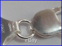 14/15mm Wide Heavy Solid Sterling Silver 237 Grams Mens Curb Chain Necklace H/m