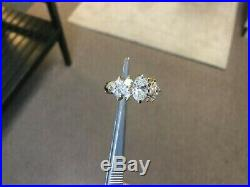 2.00 Ct Oval Cut VVS1 Diamond Engagement Wedding Ring Solid 14k White Gold Over