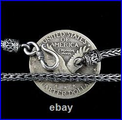 2.5MM Handmade Solid 925 Sterling Silver Balinese FOXTAIL Chain/Necklace Bali