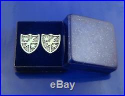 75th Ranger Regiment Cufflinks Solid Sterling Silver