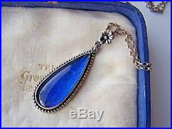Absolutely Gorgeous Big / Large Solid Sterling Silver Butterfly Wing Pendant