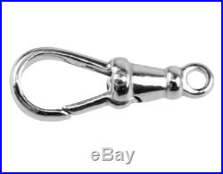 Albert Swivel Clasp Fixed Top Solid Sterling Silver 21mm Pocket Watch Fob- FS621