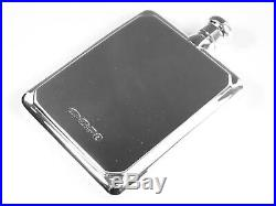 BROADWAY & Co Solid Sterling Silver HIP FLASK & FUNNEL Large Size