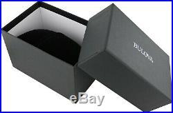 Bulova Men's Quartz Accutron II Moonview Calendar Date 42mm Watch 96B207