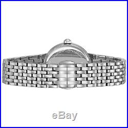 Bulova Women's Diamond Accents Moon Phase Silver-Tone 31.5mm Watch 96R210