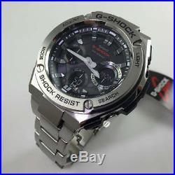 Casio G-Shock G-Steel Solar Power Ana-Digi Watch GSTS110D-1A GST-S110D-1ACR