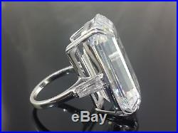Engagement Solitaire Ring Solid 925 Sterling Silver Cz high end handmade jewelry