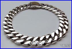 Huge Emperor Men's Necklace Solid. 925 Sterling Silver 30