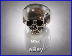 Keith Richards Solid Sterling Silver Heavy Skull 925 Ring Available All Size