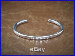 Men's Gents Hammered Solid 925 Sterling Silver Open Torque Bangle Bracelet