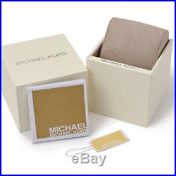 Michael Kors MK3367 Silver Tone Darci Stainless Steel Ladies Bracelet WristWatch