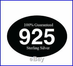 Pendant David Yurman Dog Tag Back Diamond Studded Solid 925 Sterling Silver gift
