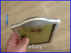 QUALITY ANTIQUE SOLID STERLING SILVER HALLMARKED PICTURE FRAME. BIRMINGHAM c1924