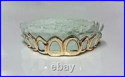 S. Silver or 10K Solid Gold Custom All Open-Cut Grill Grillz