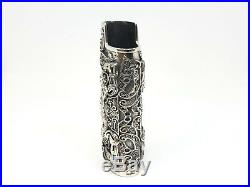 Solid 925 Sterling Silver Lighter Case Hallmarked