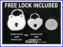 Solid 925 Sterling Silver RING Locking BDSM Sub Slave Submissive Bondage Collar