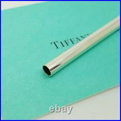 Tiffany & Co. 925 Solid Sterling Silver One Drinking Straw 7.25 inch