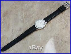 Tiffany & Co Atlas 925 Solid 925 Silver Swiss Made Quartz Men 31mm Watch A31