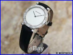 Tiffany & Co Atlas 925 Solid 925 Silver Swiss Made Quartz Men 31mm Watch J125