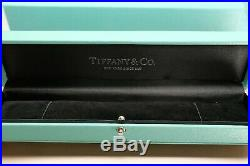 Tiffany & Co Solid Sterling Silver 925 Heart Return To Bead Bracelet 16cm w Box