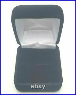 Women's Genuine Solid Real 925 Sterling Silver Princess CZ Promise Wedding Ring