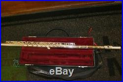Yamaha Professional Japanese-Made Solid Sterling Silver YFL 481 II 925 Flute